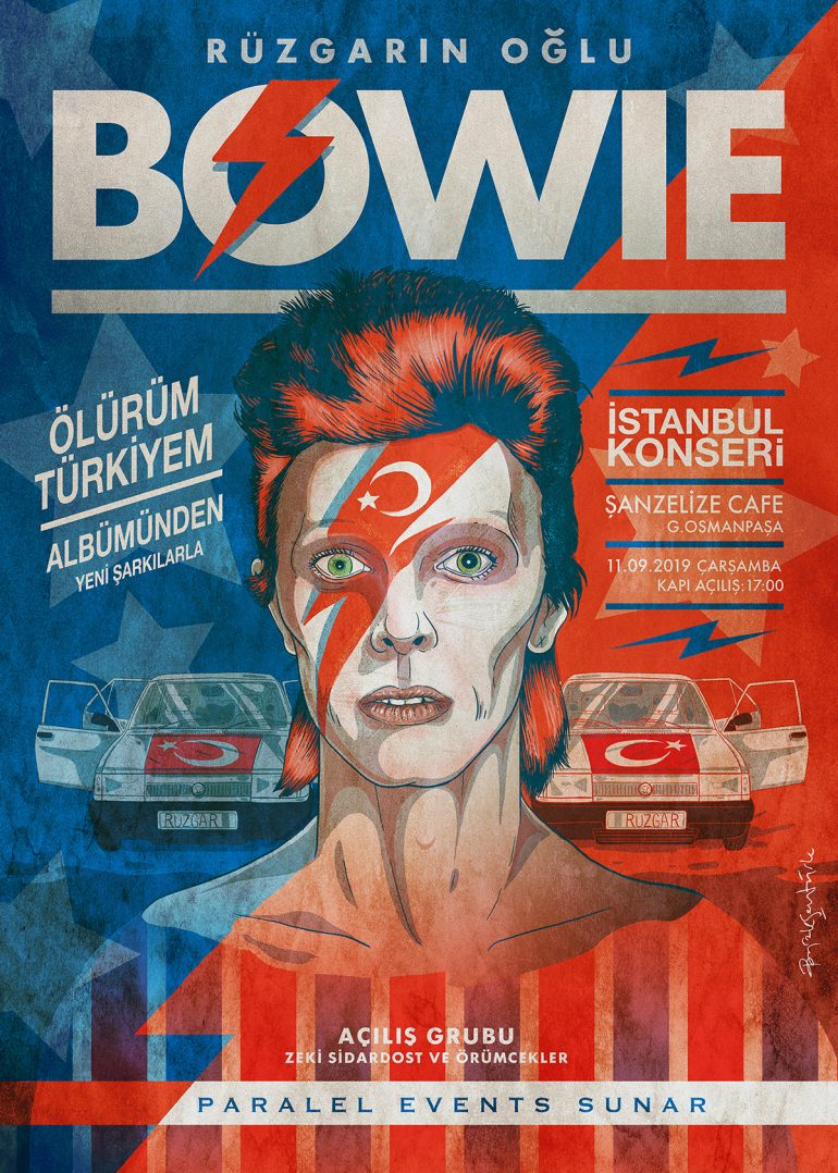 BOWIE – Dream Gigs illustrated