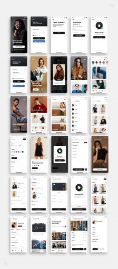 Blume – Shopping App UI Kit