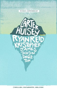 Carter Hulsey, Ryan Reid & Kristopher James Poster