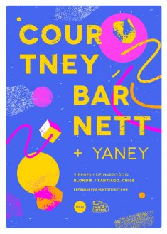 Courtney Barnett Gig Poster / 2019