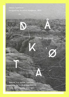Dakota Typeface