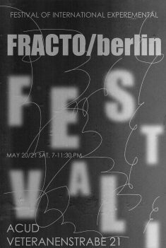 Festival of International Experimental at Acud