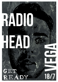 GIG POSTER + T-SHIRT for Radiohead