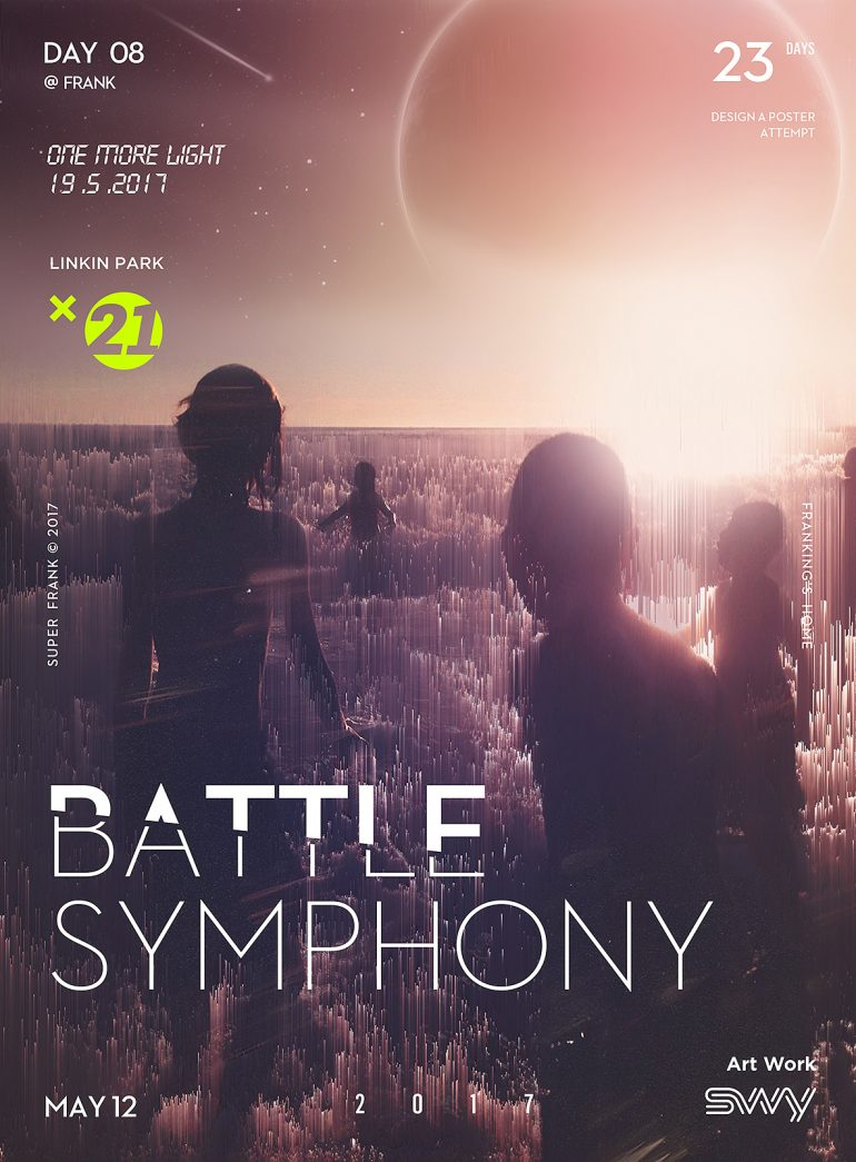 Battle Symphony Day 08 – Glitch Art 30 days in 2017.