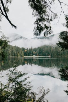 Sasamat Lake, Port Moody, BC, Canada