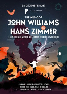 Hans Zimmer vs John Williams – Gig poster
