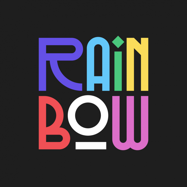 Lettering Series XII – Rainbow