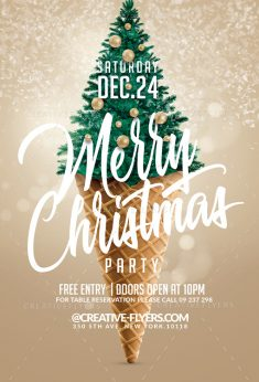 Christmas Flyer Templates for Adobe Photoshop