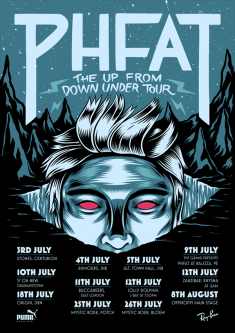 PHFAT – Up From Down Under Tour