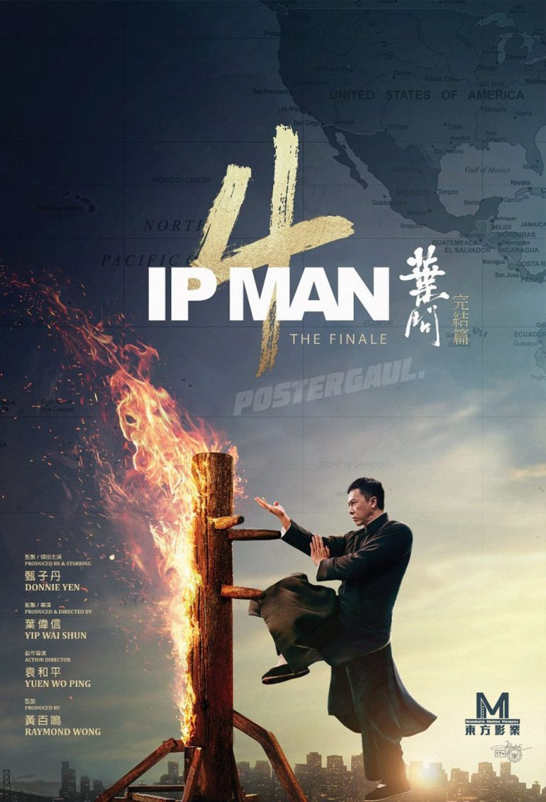 Poster Film IP MAN 4 THE FINALE