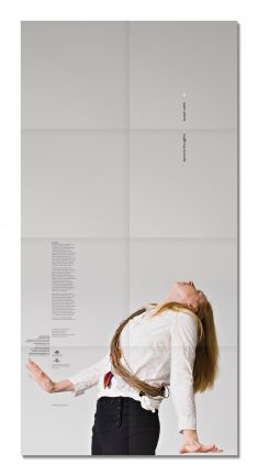 Poster/catalogue for Second Thoughts exhibition. Artist, Susan Cohn