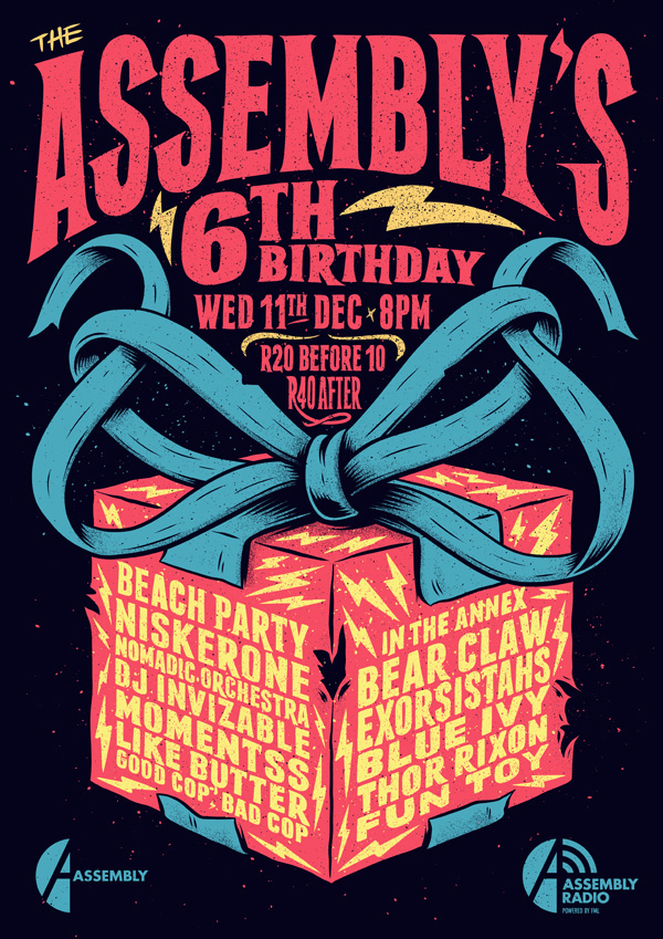 The Assembly's 6th Birthday Party