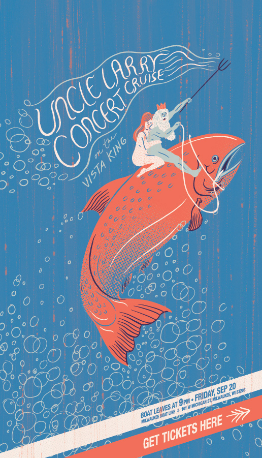 UL Gig Poster – Concert Cruise 09/20/13