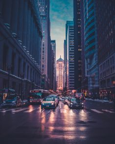 Chicago, United States Street Wallpaper