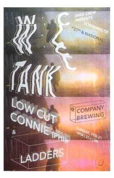 WC Tank 27th & National Gig Poster