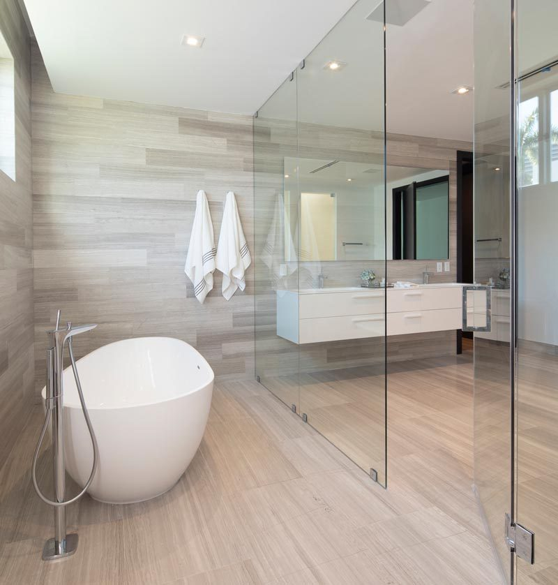 A Glass Enclosed Wet Room Is A Bathroom Design Idea Worth Considering