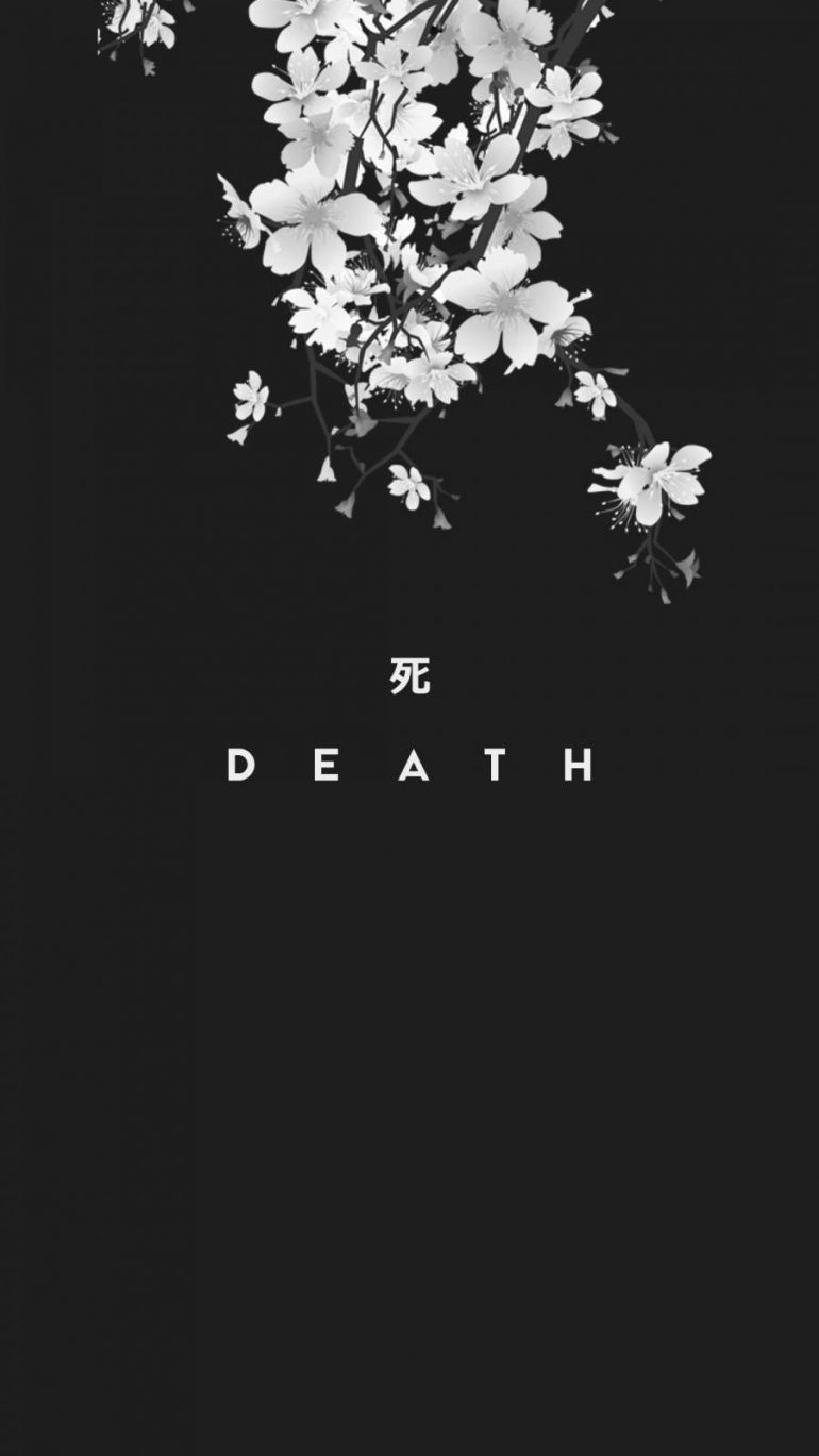 Death iPhone Wallpaper