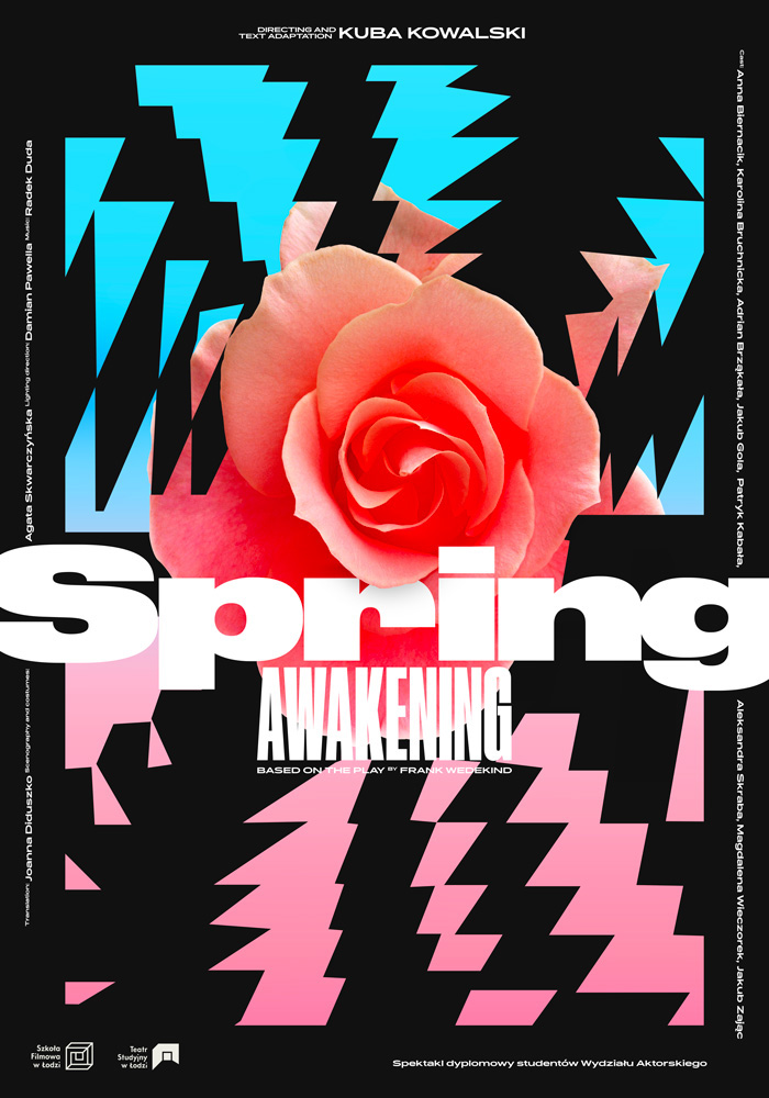 """Poster made for a theatre play """"Spring Awakening"""""""