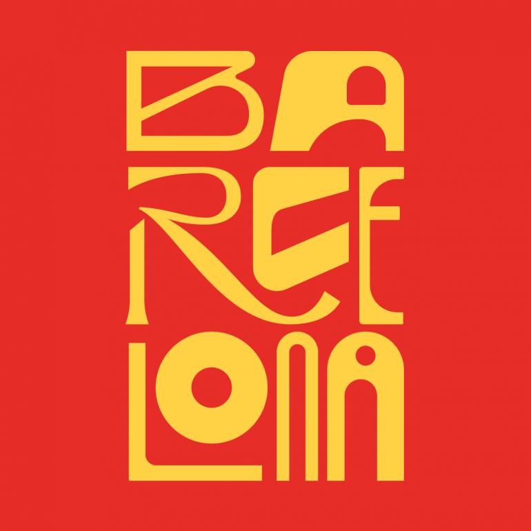 Barcelona – Lettering Series XII