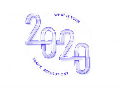 New Year's resolution 2020