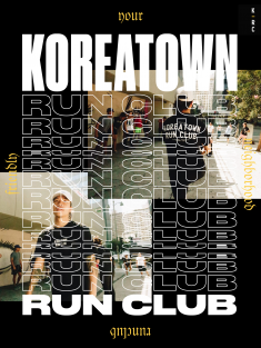 Koreatown Run Club poster