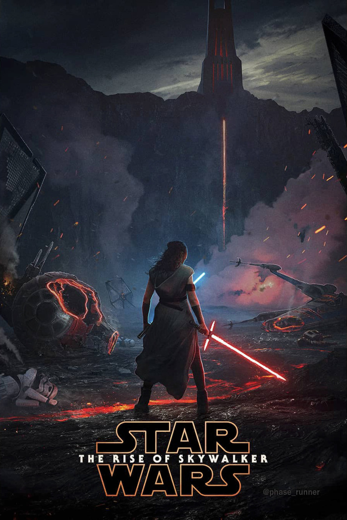 Star Wars The Rise of Skywalker FanArt Poster