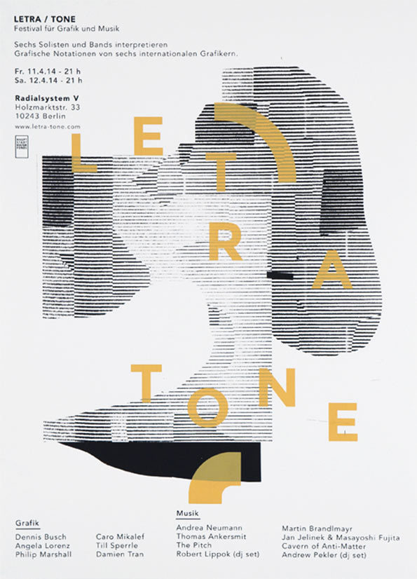 Sweet collaged gig posters by Berlin's Damien Tran