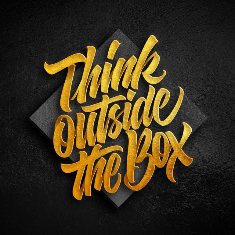 Think outside the box !