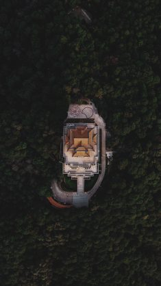 Aerial Photography of House