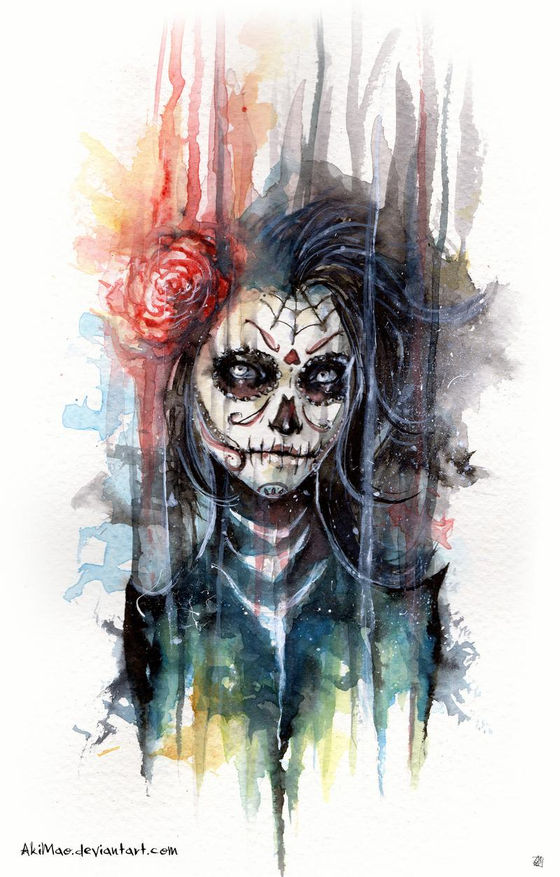 Day of the Dead by AkiMao
