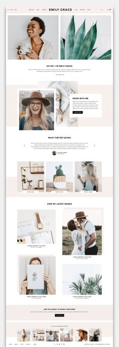 Emily Grace – A Blog & Shop Theme