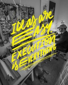 Ideas are Easy. Execution is Everything.