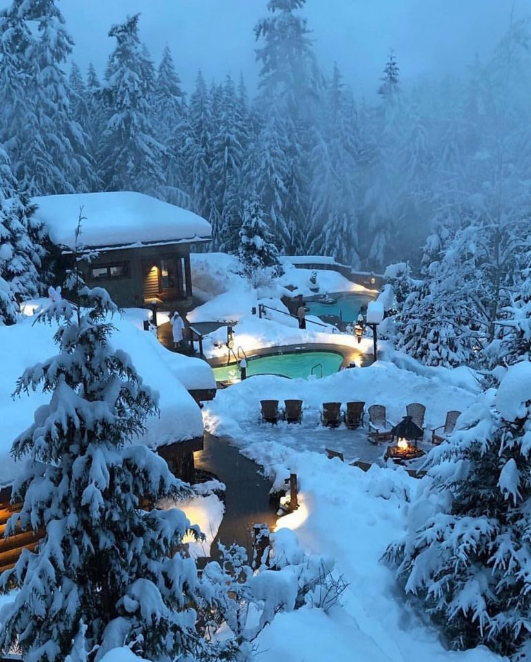 Winter in Whistler, Canada 🇨🇦 🎄❄️