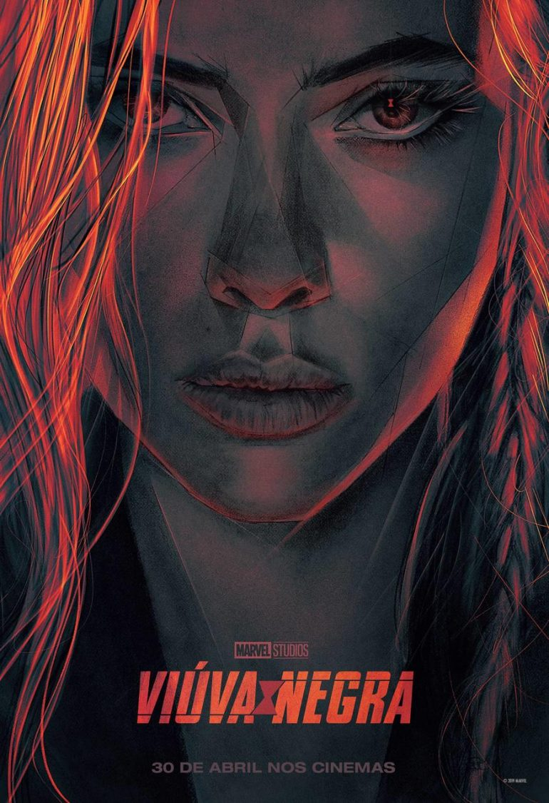 New Marvel Studios' 'Black Widow' Poster Released at CCXP 2019