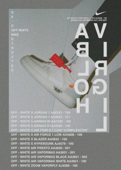 NIKE X OFF WHITE AD CAMPAIGN | INITIAL IDEAS