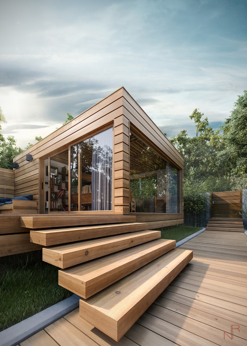 Romas Noreika's Personal Project for a Summer House