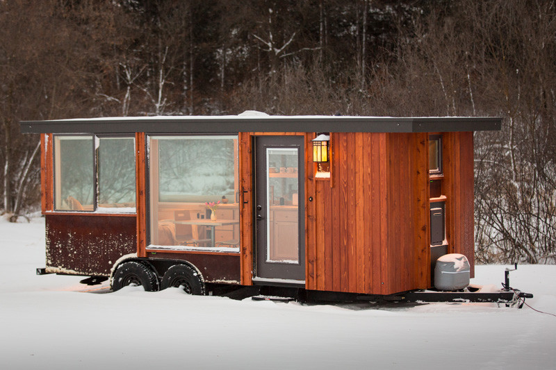 See inside this tiny home that's only 160 square feet