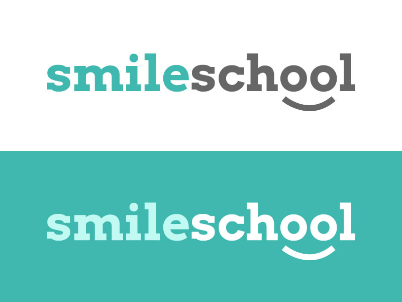 Smile School Logo Concept by Christine Wilde