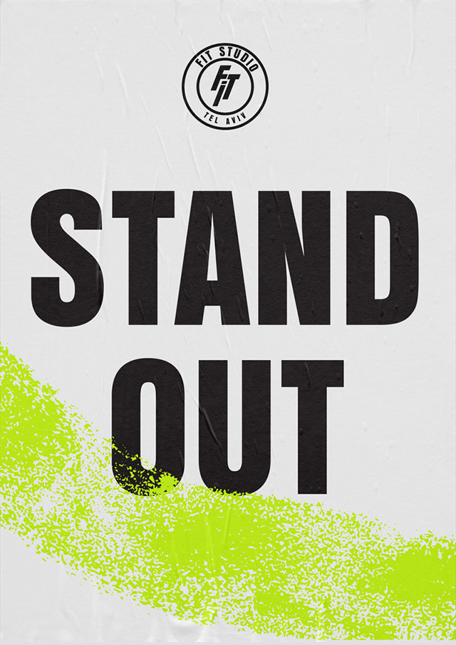 STAND OUT – Fit Studio TLV