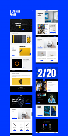 Suprematismus 2.0 UI Kit for Figma