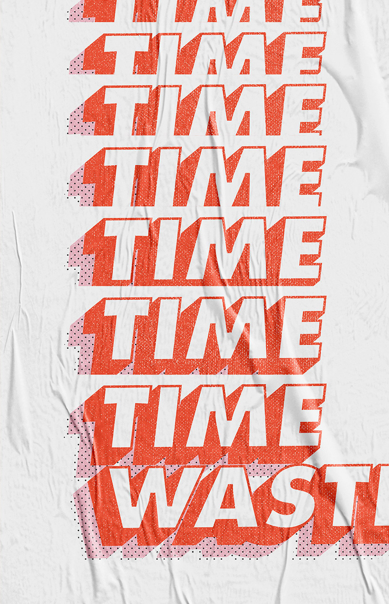 Time Wasted – Poster Mostra 2018