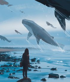 Whale migration by snatti89