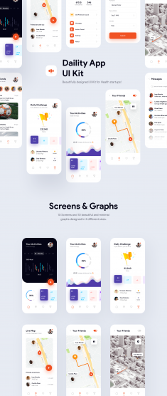 Daility App UI Kit