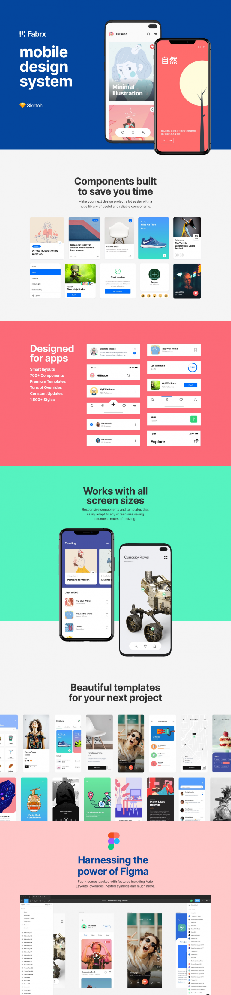 Fabrx Mobile Design System (For Figma)