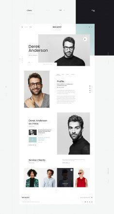 MI Talent – Free PSD Template
