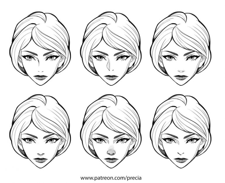 Noses types by Precia-T