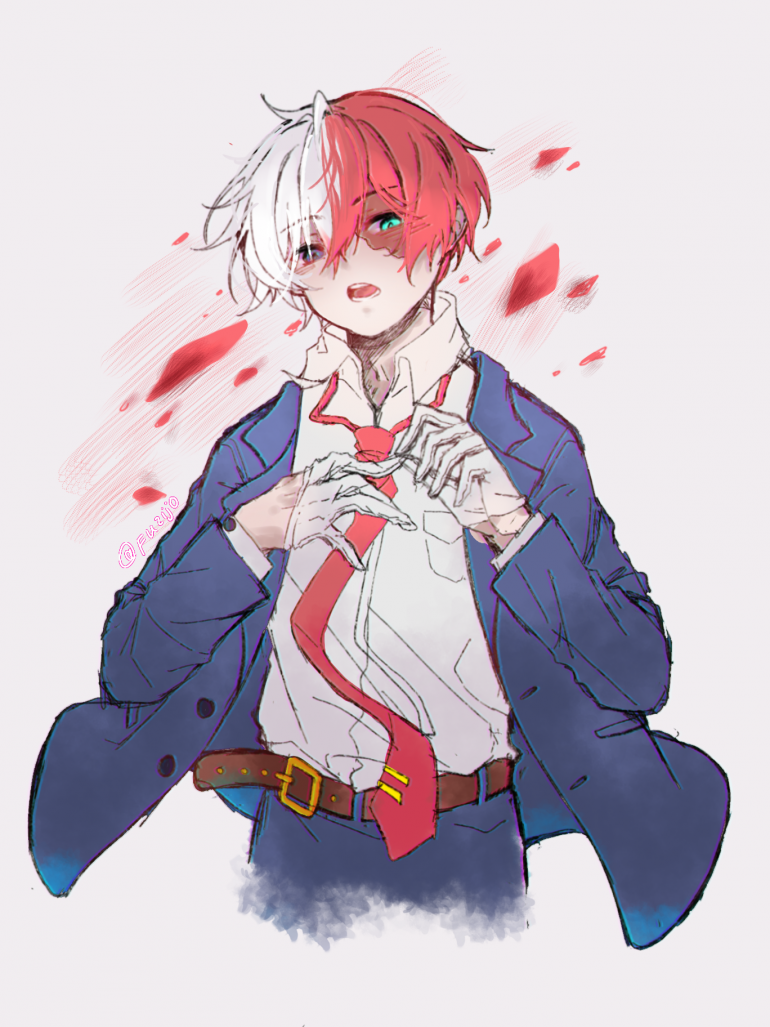 Todoroki Shoto by Fuzijo