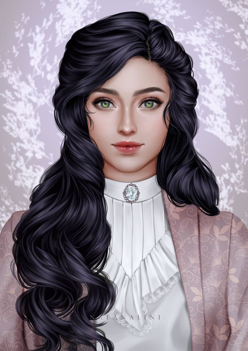 Victorian girl by Afternoonnn