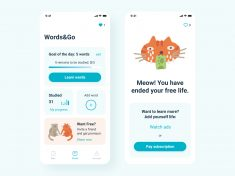 Words&Go! App Design