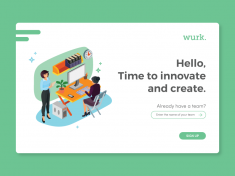 Wurk. Log In by Shakira Yanti